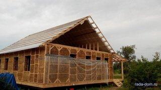 O casa din balori de paie poate avea orice forma
