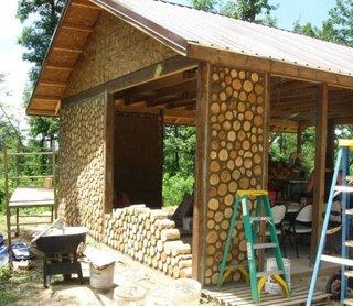 Metoda de construire cabana din lemn