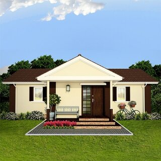 Model 1 casa panouri prefabricate