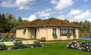 Model 3 de casa din prefabricate