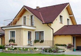 Casa cu mansarda fara placa beton