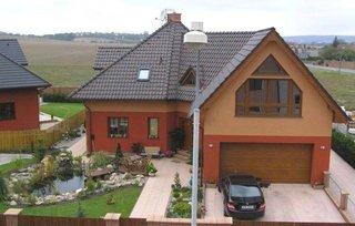 Casa cu un nivel in forma de L