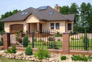 Casa moderna cu un nivel