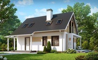 Proiecte case ieftine cu mansarda