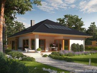 Casa parter cu veranda in spate