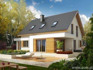 Proiect de casa cu etaj in consola