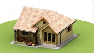 Casa mica OSB si lemn doar parter 65 mp