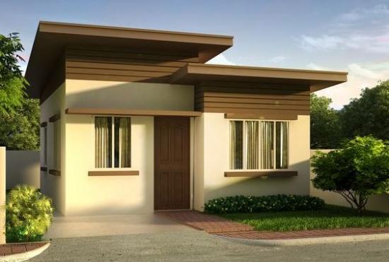 Casa cu acoperis plat