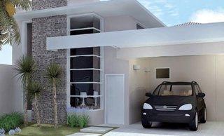 Proiect de casa mica si ingusta cu acoperis drept