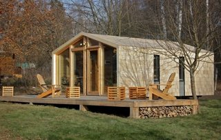 Casa modulara lemn