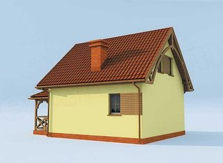 1 Casa cu mansarda de 60 mp