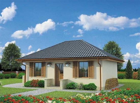 3 Casa cu parter de 44 mp