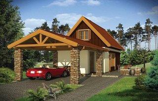 4 Model casa mica si ingusta de 50 mp