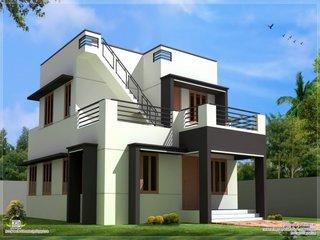 Casa moderna cu design slim