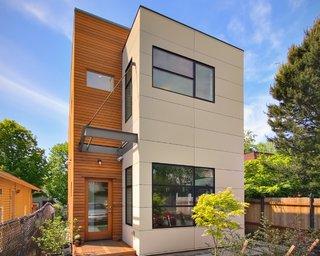 Proiect casa pentru teren ingust