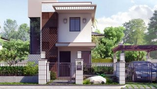 Proiect de casa dezvoltat pe verticala