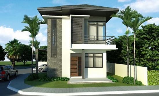 Proiect de casa ingusta cu mansarda