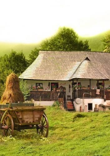 Casa romaneasca cu prispa