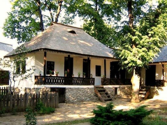 Casa traditionala Sibiu Arges Muzeul Satului