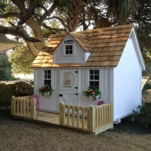 Casuta de gradina pentru copii model in miniatura