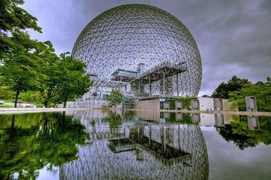 Biosphera din Montreal Canada