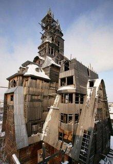 Casa Wooden Gagster din Rusia