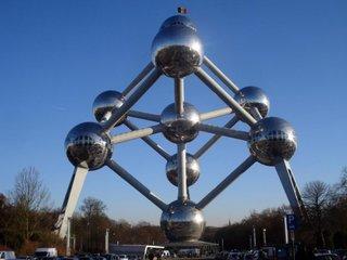 Cladirea Atomium din Belgia
