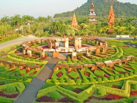 Gradina in Tailanda