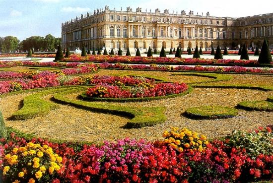 Gradina cu flori Versailles