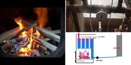 Centrala termica artizanala constructie