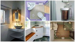Chiuvete de colt pentru baie