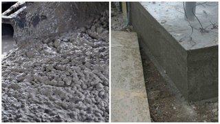 Ciment folosit la placa si la fundatie