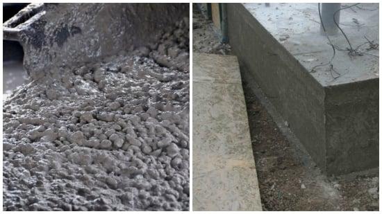 betonare curte