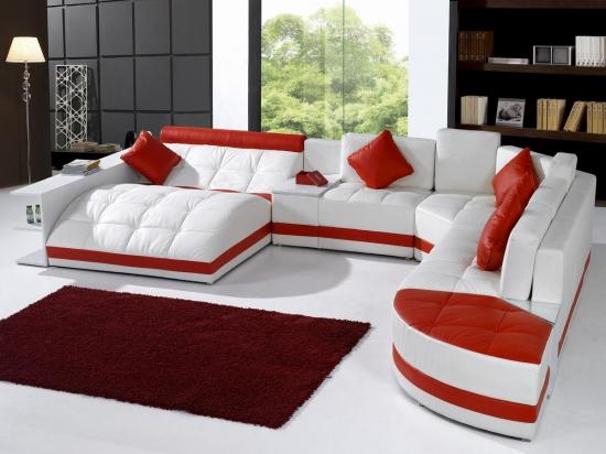 Coltare extensibile sau fixe - modele pentru livinguri in stil modern