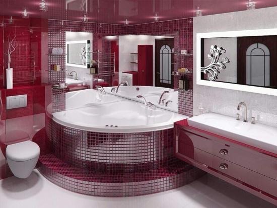 Combinatii coloristice pentru bai cu stil - Uite ce combinatii frumoase de culori am gasit pentru baia ta!!!