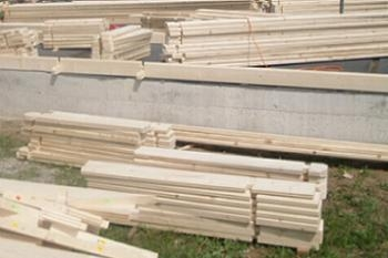 Constructia casei din lemn pas cu pas