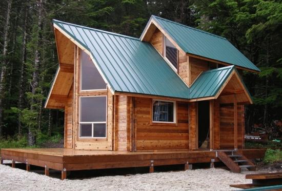 Cabana modulara lemn