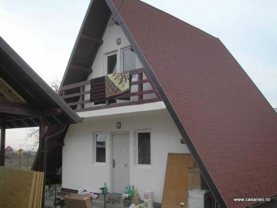 Casa lemn montana
