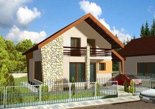 Proiect casa pe teren ingust