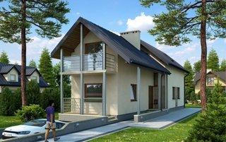 Proiect casa pentru lot ingust