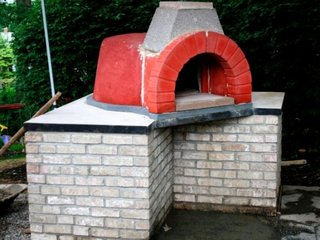 Instalare cos de fum pentru evacuare cuptor de gradina