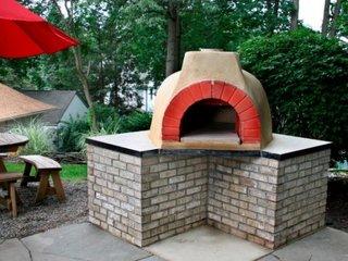 Pasii pentru constructia unui cuptor de pizza pe terasa