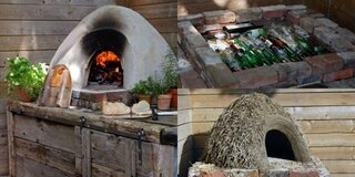 Constructie cuptor pizza - ieftin si rapid