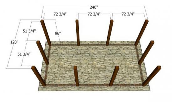 Fixare grinzi lemn
