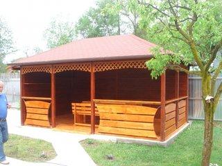 Foisor lemn masiv