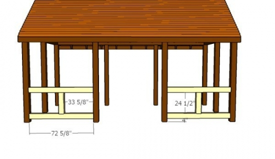 Montare balustra din lemn