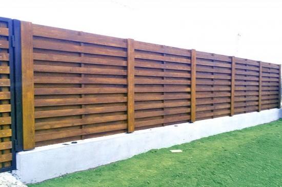 Construirea unui gard de lemn