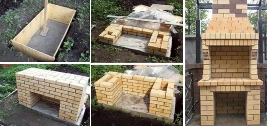 Ghid construire gratar zidit