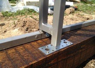 Ancorare structura solar