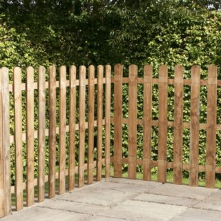 Gard mic pentru gradina